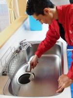 シンク排水クリーニング